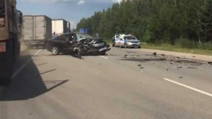 В Брянской области произошла жуткая автокатастрофа