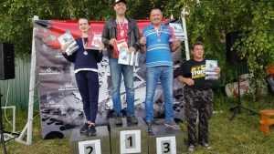 Брянцы победили на турнире Поволжья по аквабайку