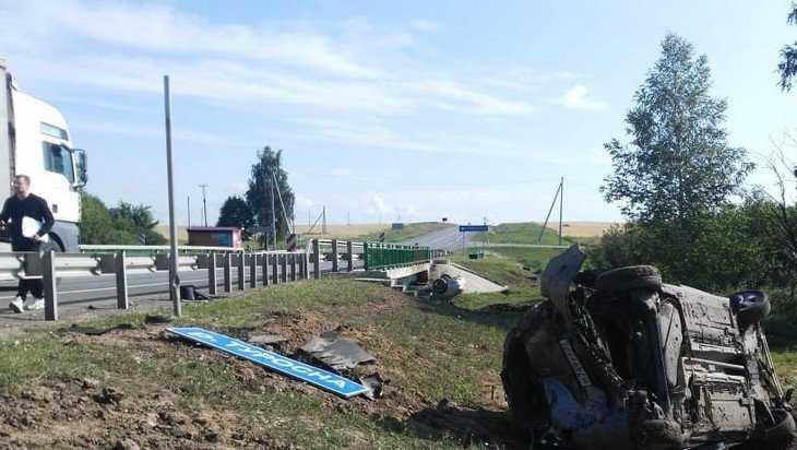 Пять человек ранены в серьезной аварии в Клинцовском районе