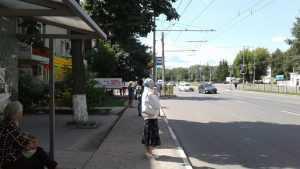 В Брянске остановку «Областная больница» отодвинули от перекрестка