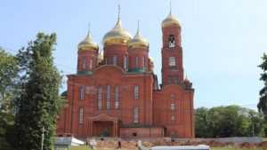 В Клинцах новый Богоявленский кафедральный собор освятят в этом году