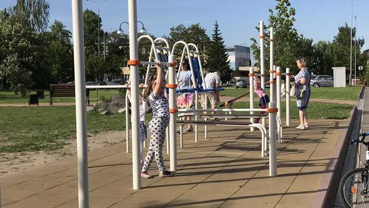 В Брянской области в 2019 году построят 11 спортплощадок