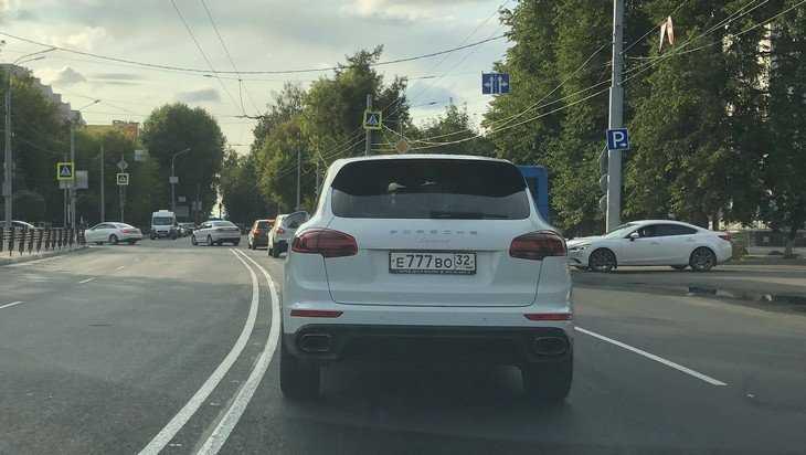 Брянцы предложили не давать красивые автомобильные номера «нищебродам»