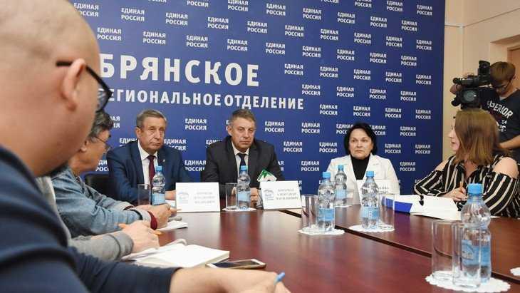 Лидеры брянского списка «Единой России» объявили о старте избирательной кампании
