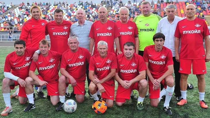 Легенды московского «Спартака» приедут на 75-летие Брянской области