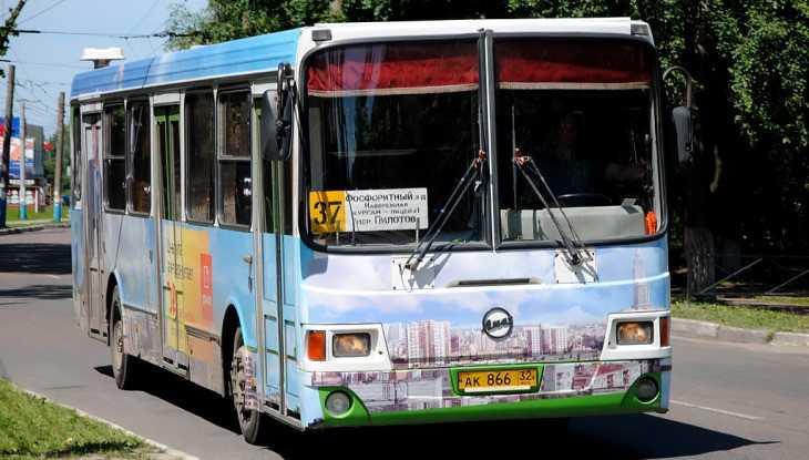 В Брянске автобус № 37 начал ходить по новому расписанию