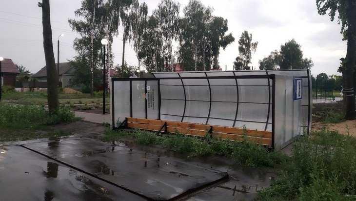 В Трубчевском районе ураган натворил немало бед