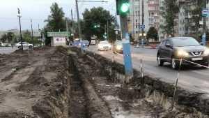 В Брянске из-за расширения дороги на Авиационной улице снесут киоск
