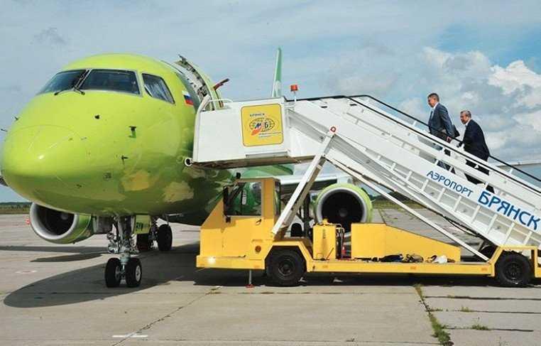 Брянский аэропорт купил трап для «Боингов 757»