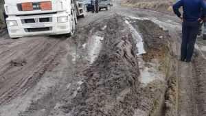 В Трубчевске многоквартирный дом оказался отрезан от «большой земли»
