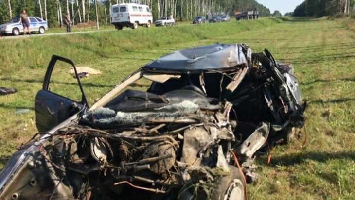 На брянской трассе в автокатастрофе погиб 46-летний мужчина