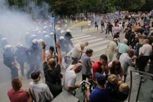 В польском Белостоке во время гей-парада произошло массовое побоище