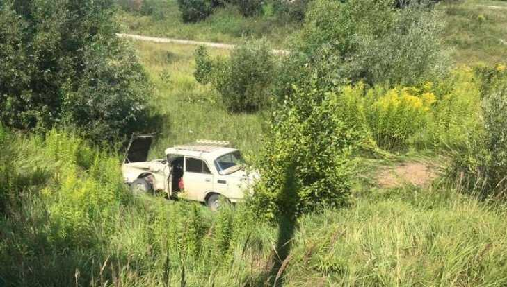 Под Брянском разбился «Москвич» с 79-летним водителем