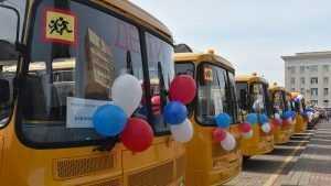 Новые школьные автобусы переданы образовательным учреждениям Брянской области