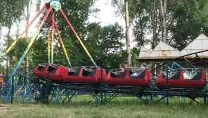 В Брянске распространили сплетни о слетевшем с рельсов вагоне в парке