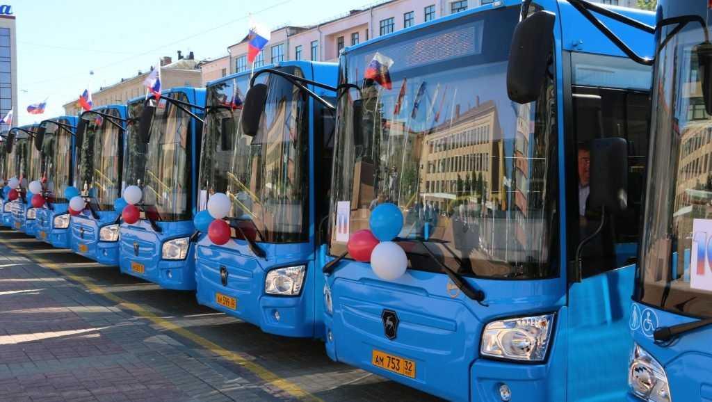 Для Брянска купят 100 новых автобусов за 730 миллионов рублей