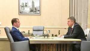 Дмитрий Медведев выделил Брянщине 22 автомобиля «скорой помощи»