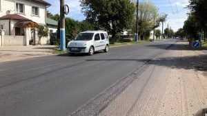 На улице Бежицкой в Брянске уже отремонтировали большую часть дороги