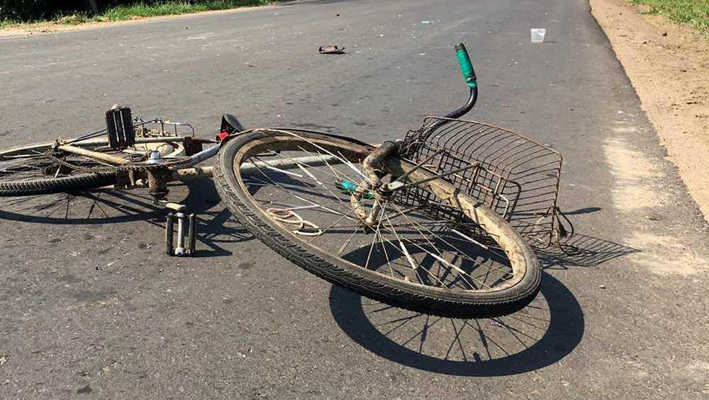 В Сураже неизвестный водитель сбил велосипедистку и уехал с места ДТП