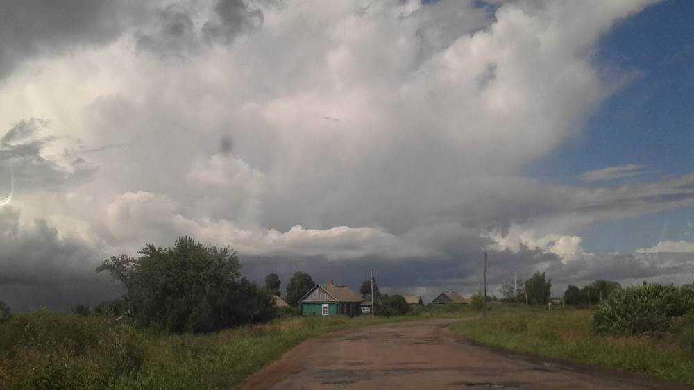 В Брянскую область 22 августа вернутся дожди с грозами