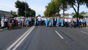 По Брянску прошёл крестный ход в честь Свенской иконы Божией Матери
