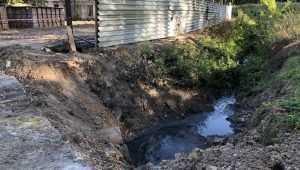 В брянском поселке Локоть начали строить очистные сооружения