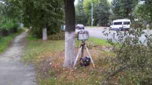 В Брянске выявили «дядю с радаром в кустах»