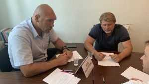 Брянцы адресовали Николаю Валуеву вопросы развития спорта в регионе