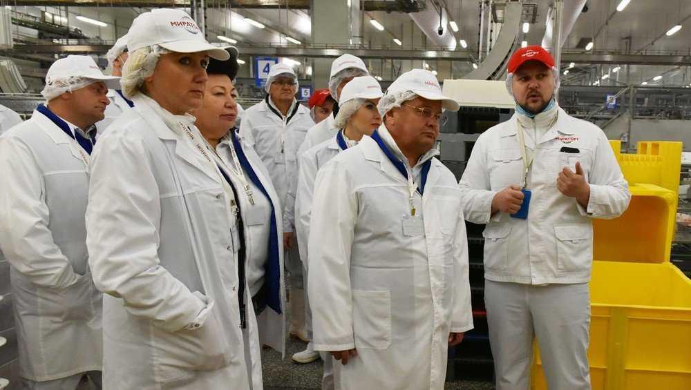 Белорусскую делегацию восхитило сельское хозяйство Брянской области