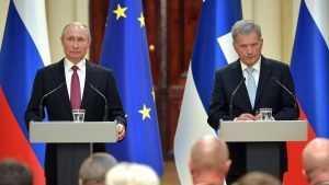 Финская журналистка: «Путин приехал, начал командовать и угрожать»