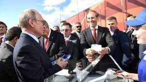 Владимир Путин вновь купил себе любимое мороженое на МАКС-2019