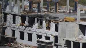 В Брянске в школе на территории старого аэропорта обрушился этаж