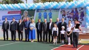 В Клинцах появилась универсальная спортплощадка