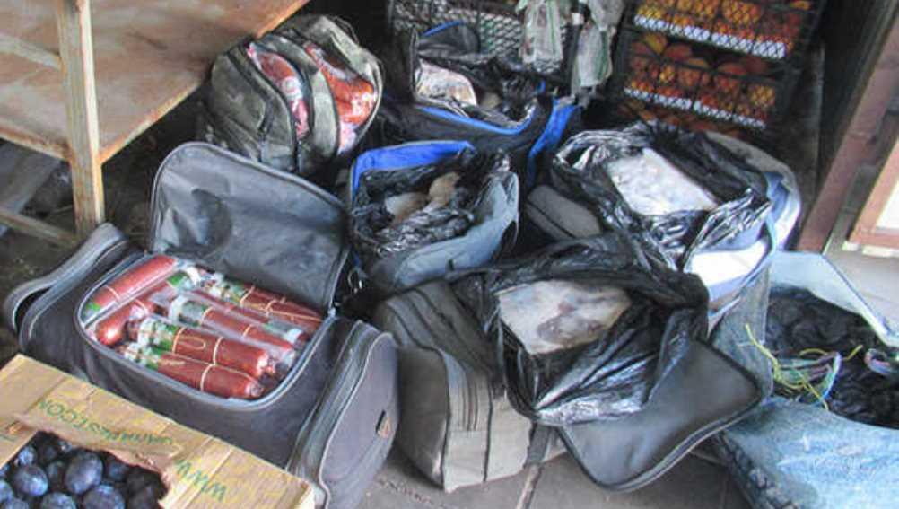 В Брянске задержали украинца с 360 кг сомнительных продуктов