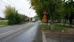 В Брянске приступили к завершению ремонта дороги на улице Вокзальной