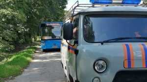 Жителей Брянска переполошил подозрительный пакет в автобусе