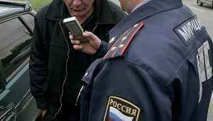 Пьяный брянский водитель на свою голову предложил взятку автоинспектору