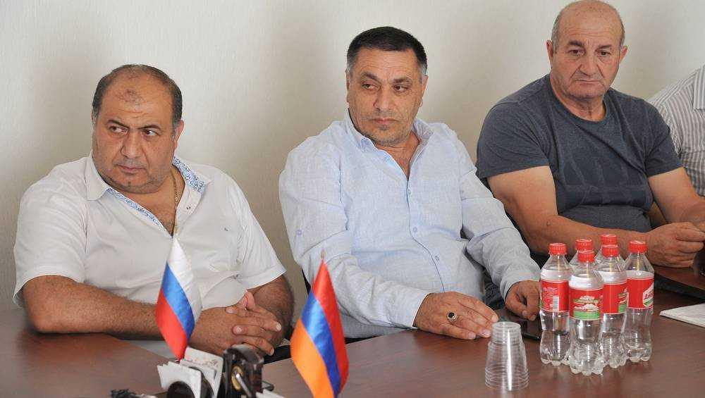 Заместитель брянского губернатора встретился с армянской общиной