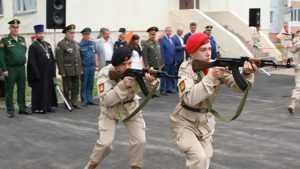 В Брянске для будущих солдат открыли первый дом «Юнармии»