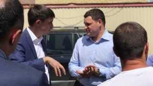 Казарян Карен Виленович встретился с дольщиками ЖК «Территория счастья» на ул. Домбайская, 10