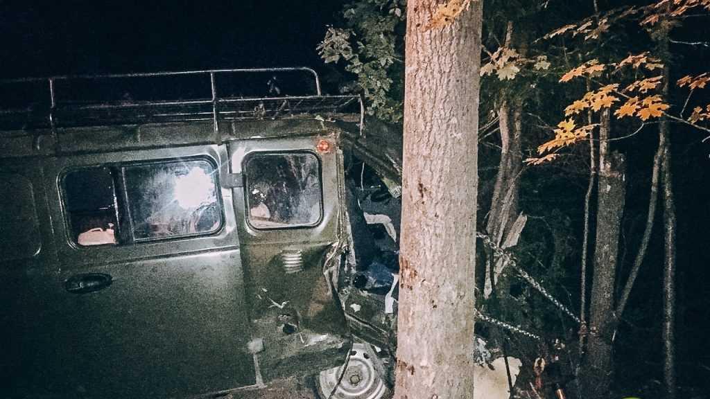 Пьяный брянский водитель попал в страшную аварию под Выборгом