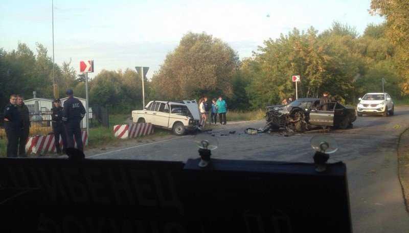 В Фокино в страшном ДТП с двумя легковушками погиб мужчина