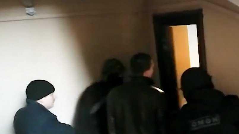 Появилось видео задержания за взятку брянского чиновника