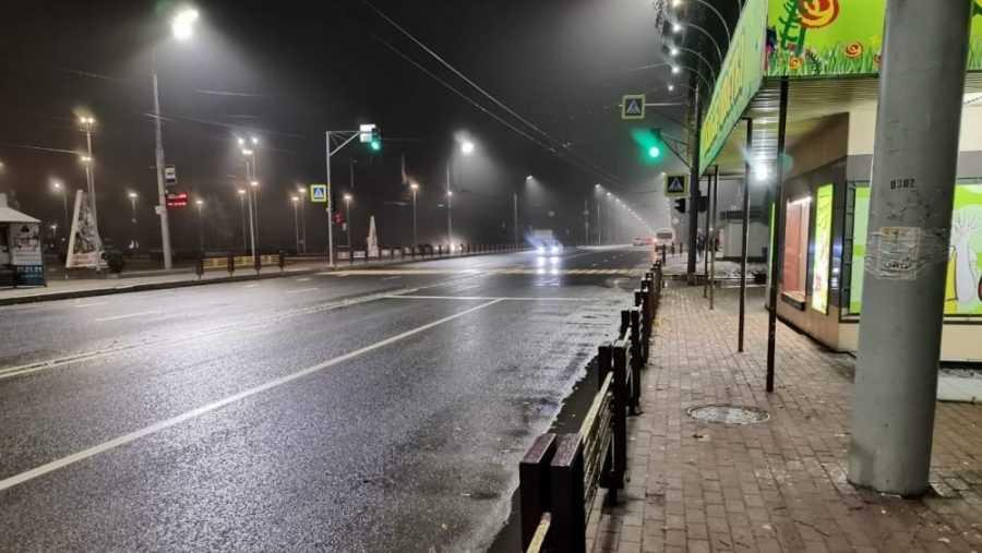 Орловские журналисты похвалили освещение улиц в Брянске