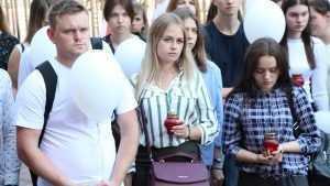 В Брянском филиале президентской академии провели акцию «Вместе против террора»