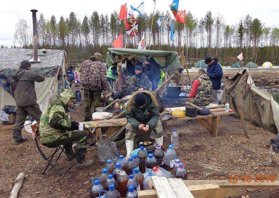 палаточный лагерь шиес