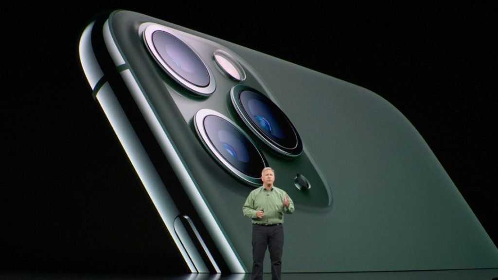 Apple представила три новых модели iPhone