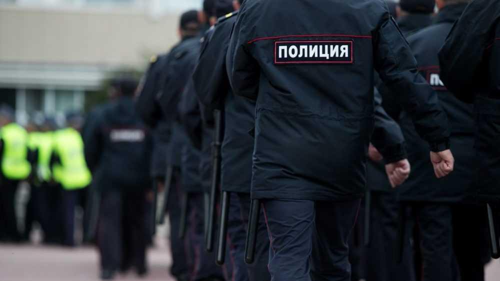 Брянская полиция предупредила об ответственности за участие в незаконных протестах