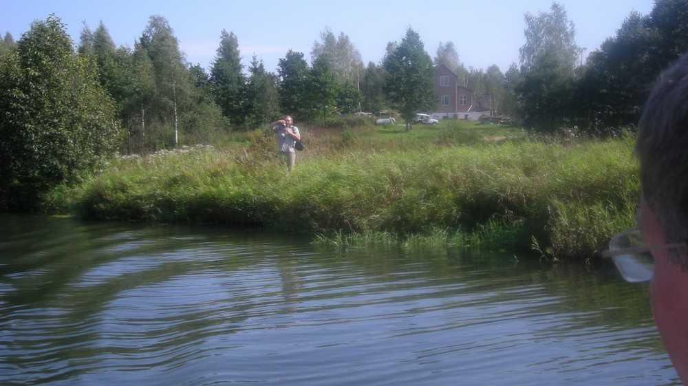 Десна у своего истока в Смоленской области необычайно красива и тиха