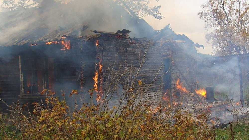 В сгоревшем доме в мглинской деревне погибла пенсионерка